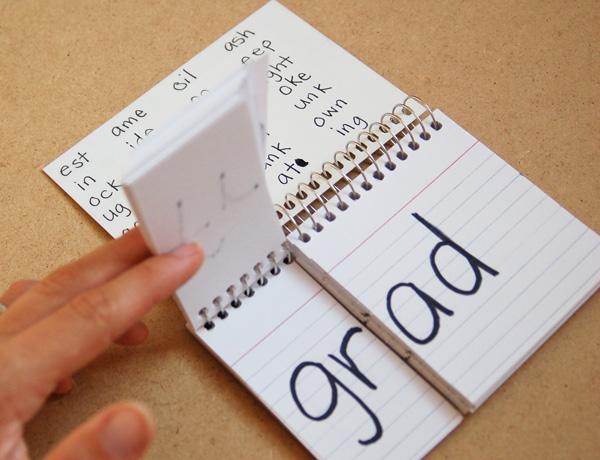 Word Family Flip Chart