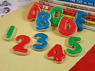 ABC and 123 Cookies