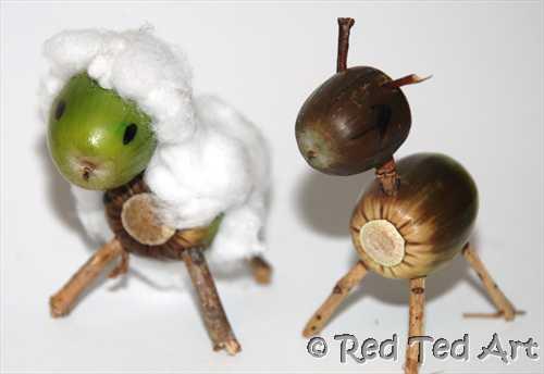 Acorn Animals Fun Family Crafts