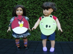 Angry Birds Costumes for Dolls
