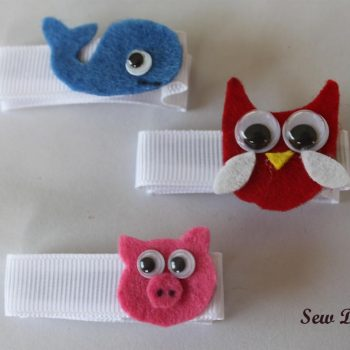 Animal Hair Clips