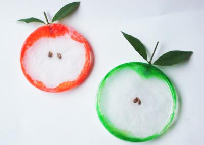 Plastic Lid Apples