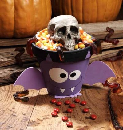 Halloween Batty Treat Pot