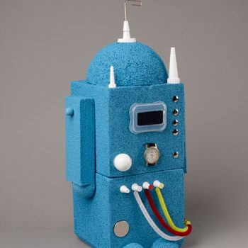 Blue Foam Robot