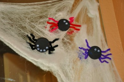 Bottle Cap Spiders