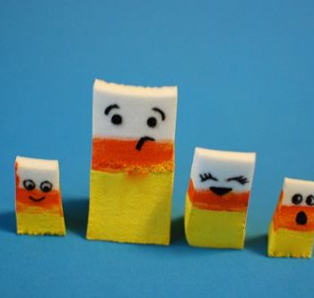 Candy Corn Family Playset