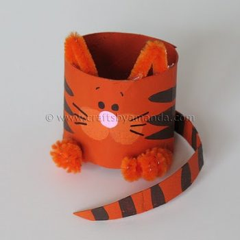 Cardboard Tube Cat