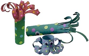 Cardboard Tube Sea Creatures