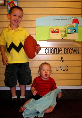 Charlie Brown and Linus Costume