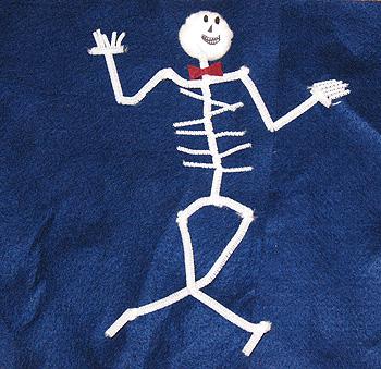 Chenille Stem Skeleton