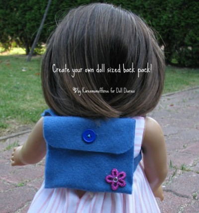 Backpack for Dolls