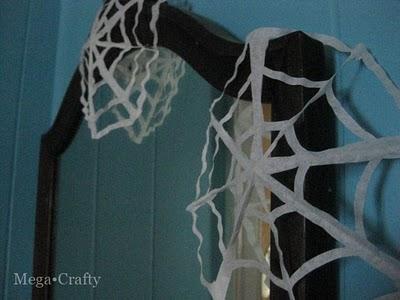 Coffee Filter Cobwebs