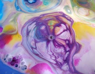 Colorful Milk Experiment