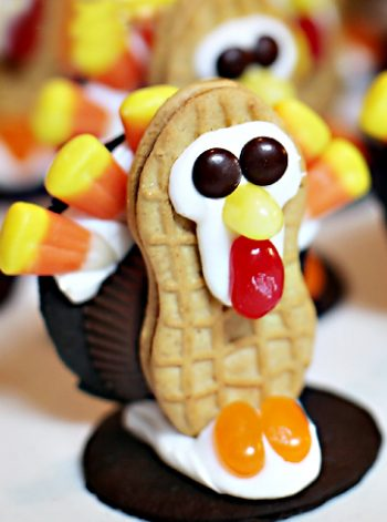 Cookie and Candy Turkeys