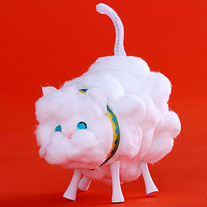 Cotton ball cat fun family crafts - Cotton ballspractical ideas ...