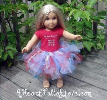Make a Doll Tutu