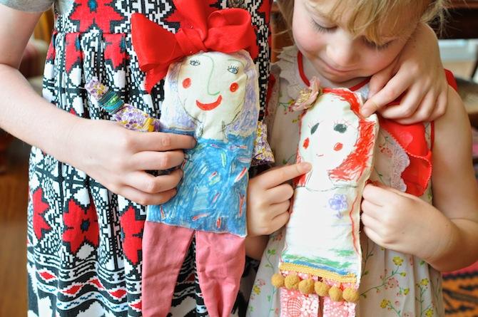 Easy Cloth Dolls