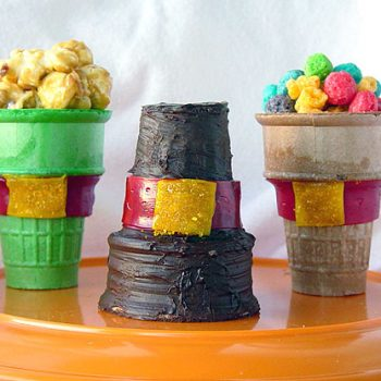 Edible Pilgrim Hats