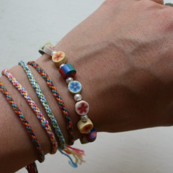 Make a Woven Friendship Bracelet