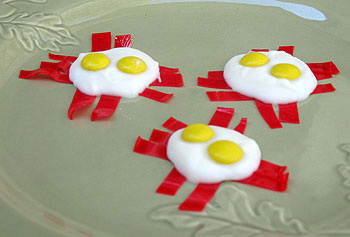 Eggs and Bacon Candy