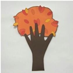 Handprint Fall Tree
