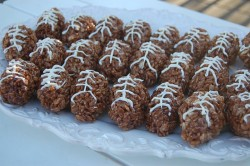 Football Rice Krispy Treats