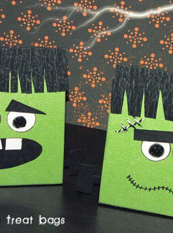 Frankenstein Treat Bags