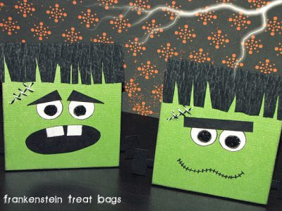 Frankenstein Treat Bags