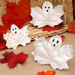 Frosty Leaf Ghosts