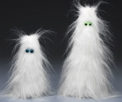 fuzzy wuzzy ghosts fun family crafts