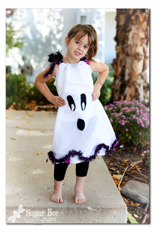Ghost Dress Halloween Costume Fun Family Crafts