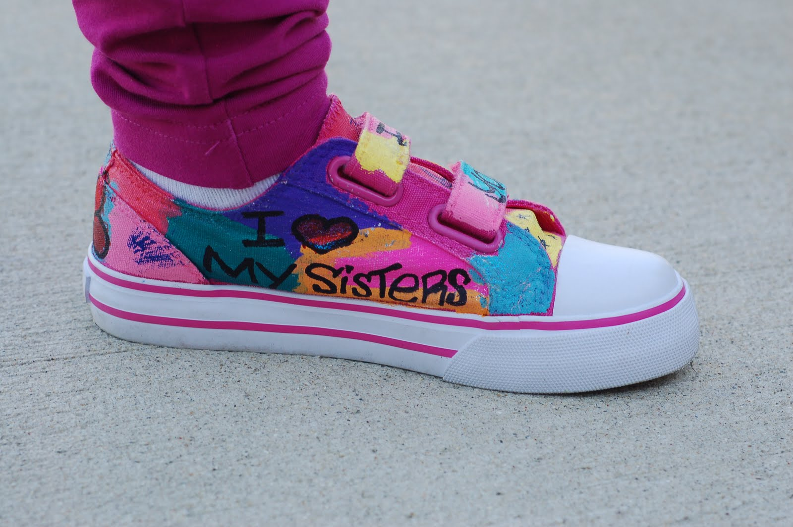 Graffiti Shoes