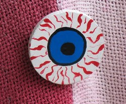Halloween Eyeball Pin