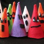 Halloween Felt Ghouls