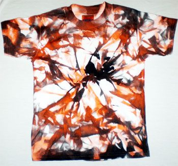Halloween Tie-Dyed Shirt