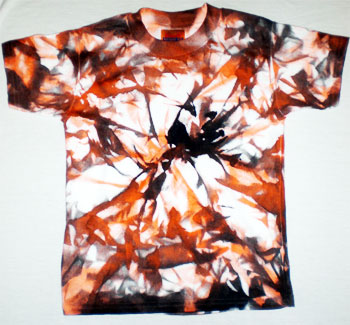 Halloween Tie-Dyed Shirt