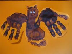 Hand & Footprint Bats