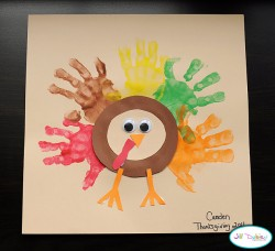 Handprint Thanksgiving Turkeys