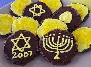 Hanukkah Coin Cookies