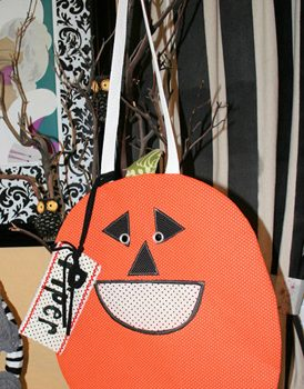 Hungry Pumpkin Treat Bag