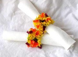 Indian Corn Napkin Rings