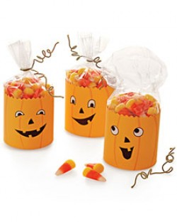 Jack O' Lantern Party Favors