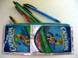 Capri Sun Pencil Pouch