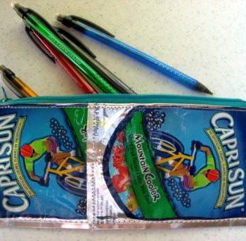 Capri Sun Pencil Pouch