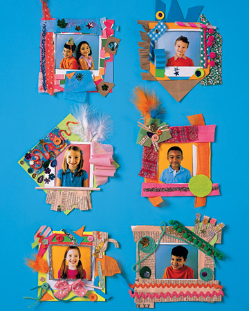 Paper Picture Frame Fun Family Crafts