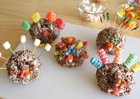 Rice Krispy Turkeys To Gobble Up