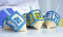 Mini Dreidel Cakes