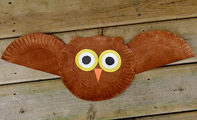 Paper Plate Owl & Paper Plate Owl | Fun Family Crafts