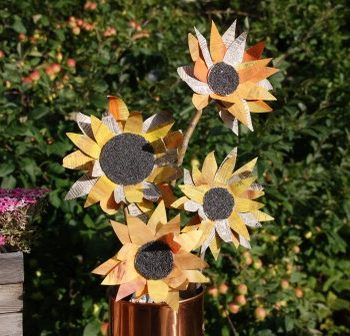 Paper Sunflowers