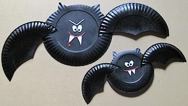 Paper Plate Vampire Bats
